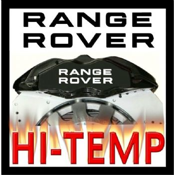 RANGE ROVER Brake Caliper Decals / Stickers / Graphics Set